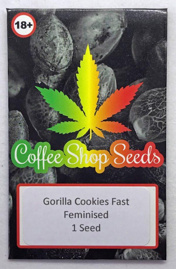 Gorilla Cookies female cannabis seeds