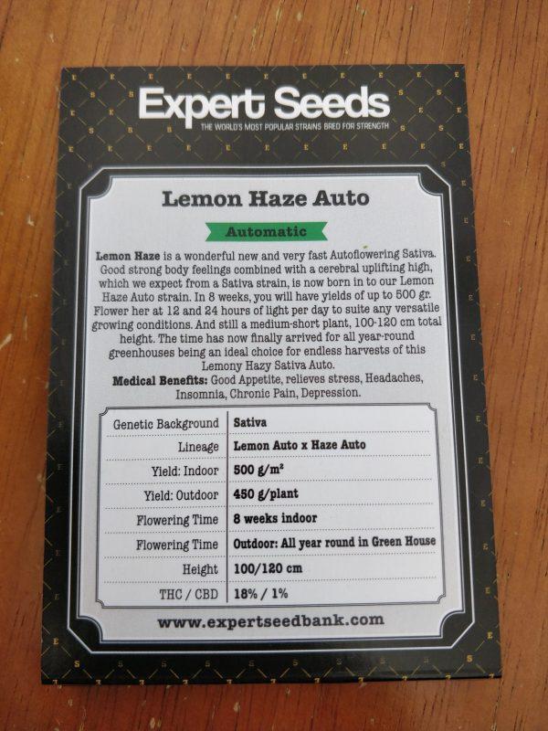 Lemon Haze Auto Feminised cannabis seeds