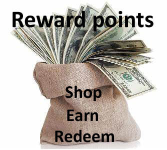 Reward Points money bag