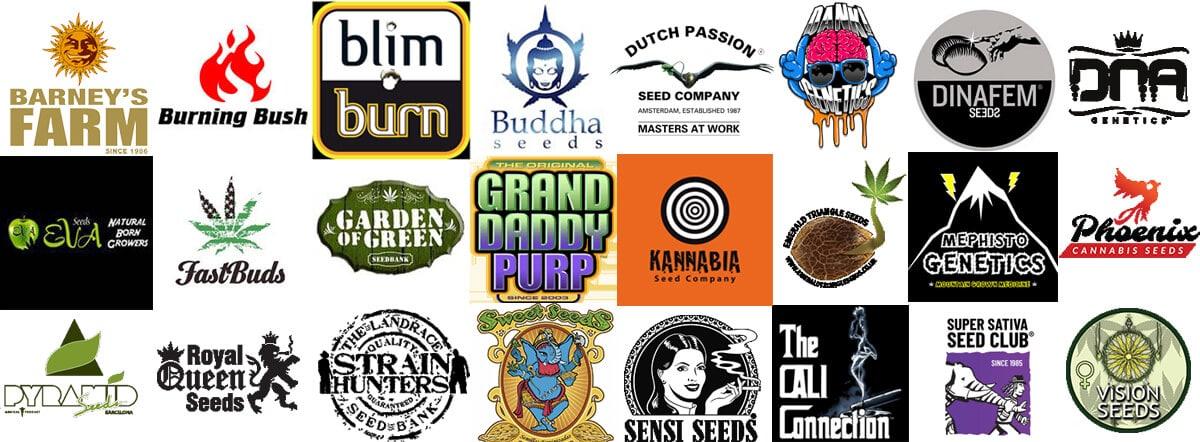 Cannabis seed breeders logos