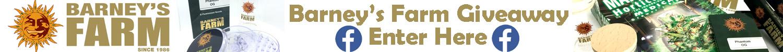 Barney's Farm social giveaway