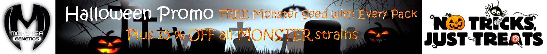 Monster genetics Halloween Promotion