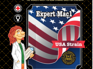 Expert Mac1 Feminised Cannabis Seeds da Expert Seeds