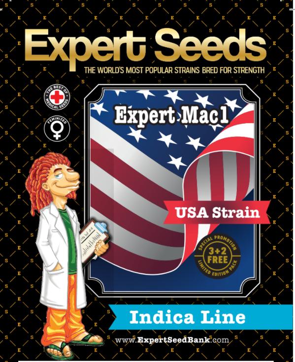 Expert Mac1 Feminised Cannabis Seeds by Expert Seeds